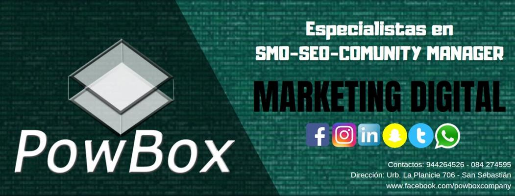 Slide Marketing Digital | POW BOX Company