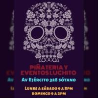 Logo Piñatería & Eventos Luchito - Cusco