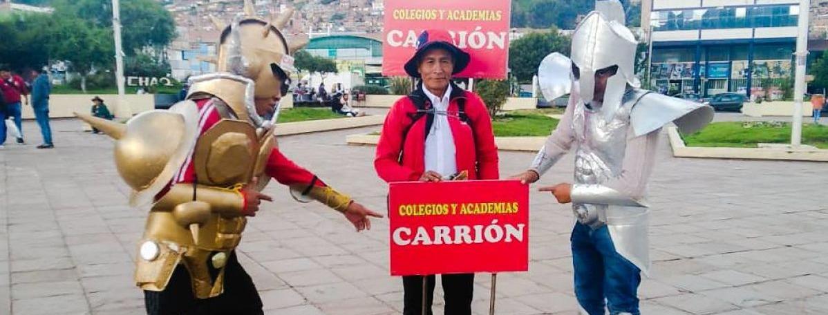 Portada Colegio Carrión Cusco
