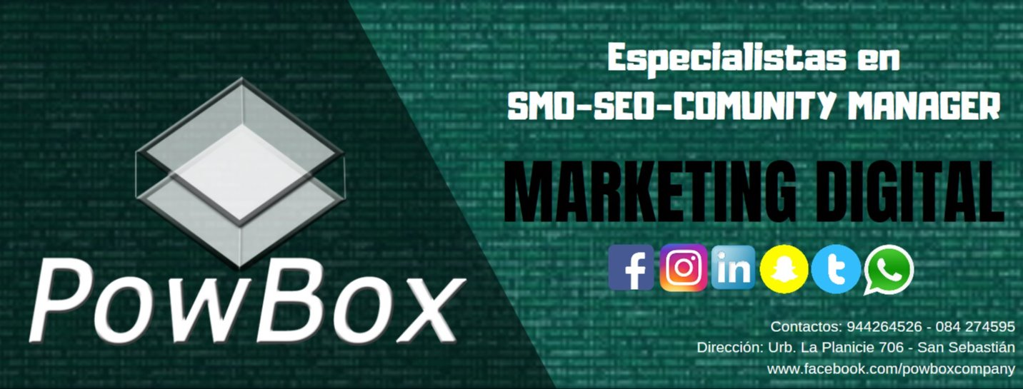 Portada Marketing Digital | POW BOX Company