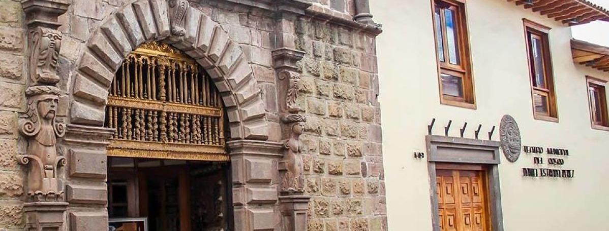 Portada Teatro Municipal del Cusco
