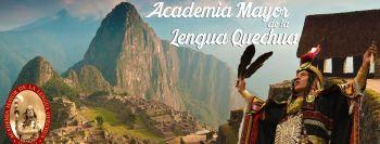 Miniatura Academia Mayor de la Lengua Quechua