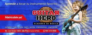 Miniatura Academia de Musica Guitar Hero