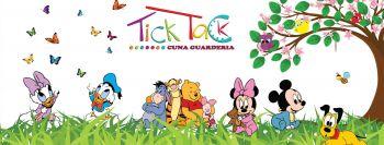 Miniatura Tick Tack Cuna guarderia