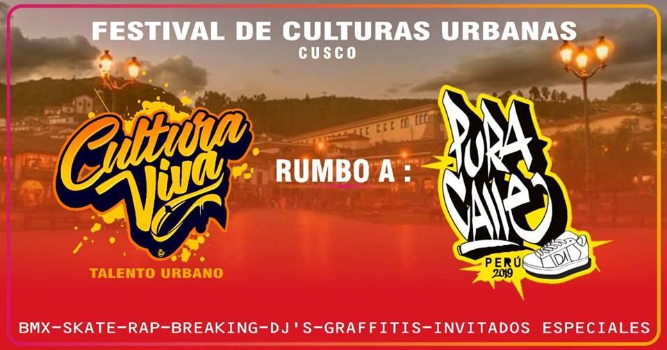 Cultura viva - talento urbano Sur - Rumbo al Pura Calle 2019 - Organizado por Cultura Viva - Talento Urbano
