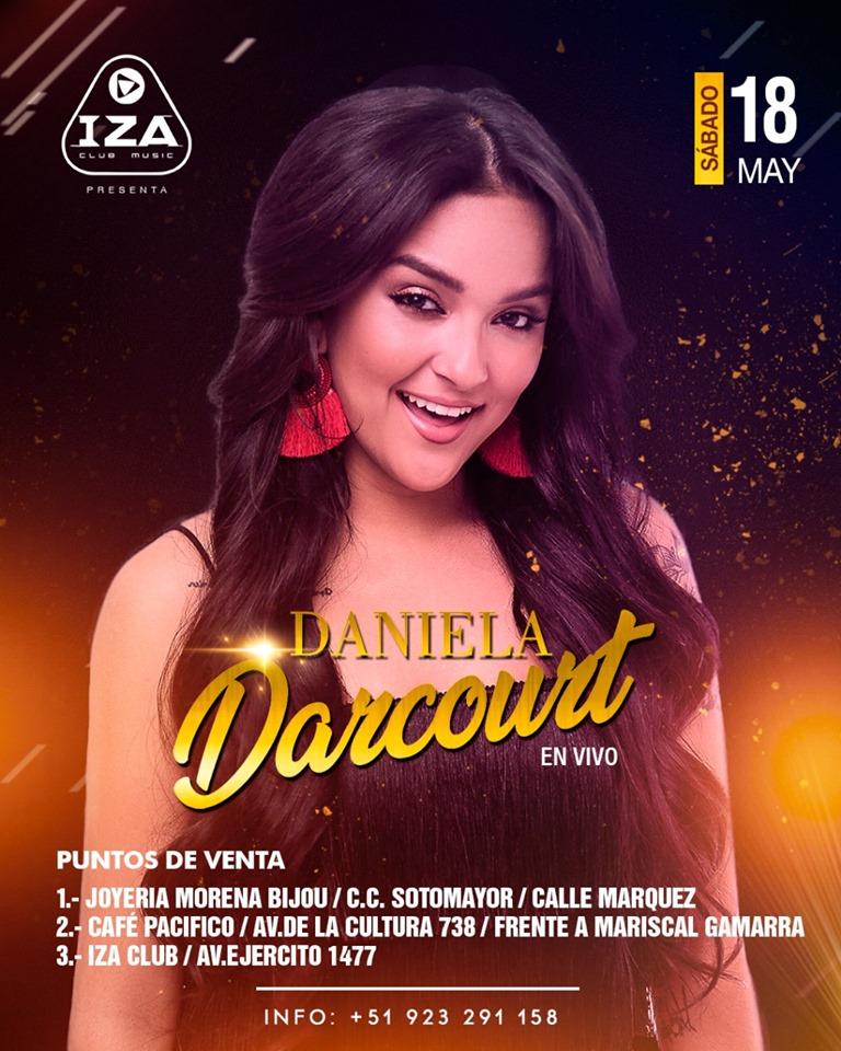 Daniela Darcourt en Cusco -