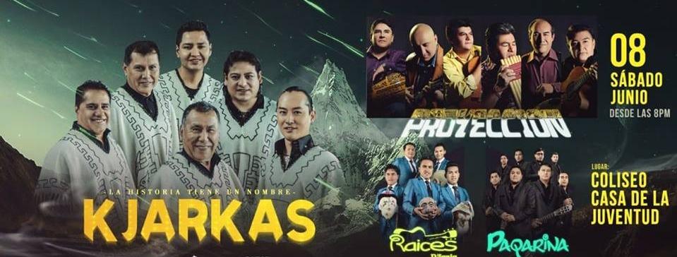 Portada Kjarkas, Proyección Y Raíces D'Jauja en Cusco