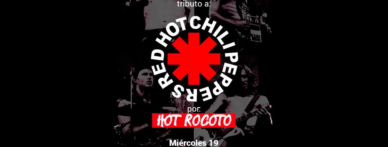 Portada TRIBUTO A RED HOT CHILI PEPPERS POR HOT ROCOTO